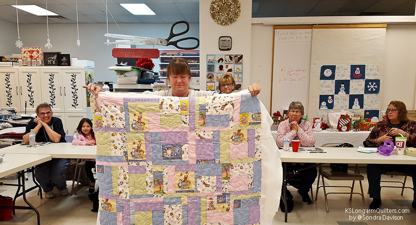 December 2018 Show and Share │ KSLongarmQuilters